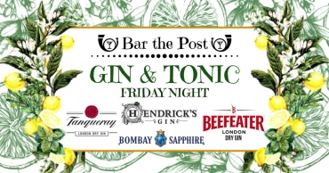 Bar the Post | Gin & Tonic night