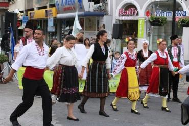 С танци и музика откриха Панаир на занаятите 2017