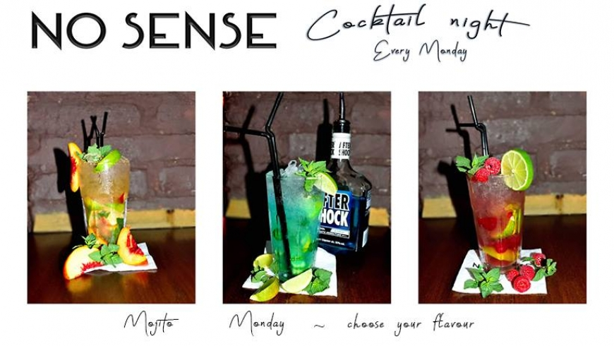 No Sense Cocktail Night