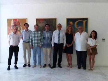 Зам.-кметът по култура на Пловдив посрещна съветника по култура на китайското посолство ГУ Хонсин