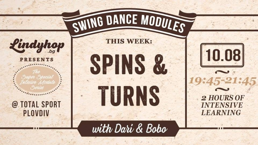 Swing Dance Module - Spins and Turns