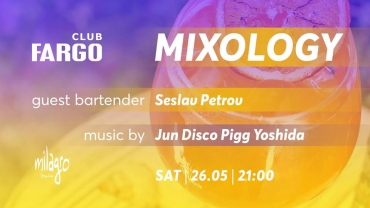 Mixology #9 guest bartender Seslav Petrov + music by Jun Yoshida