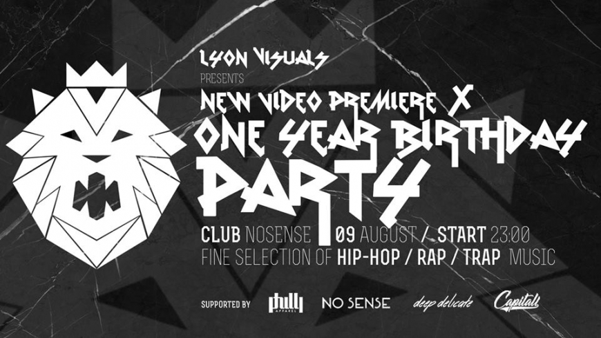 LYON VISUALS 1 Year Birthday Party + Video Premiere