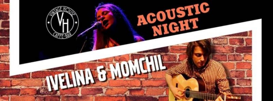 Acoustic Night with Ivelina & Momchil @Vintage House