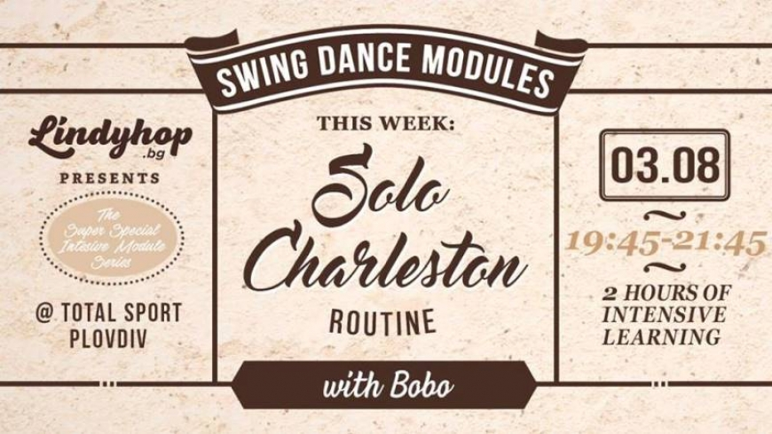 Swing Dance Module - Solo Charleston Routine