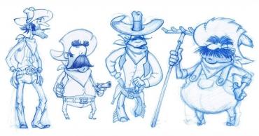 Ателие за рисуване на персонажи в Ръкоделницата в Капана