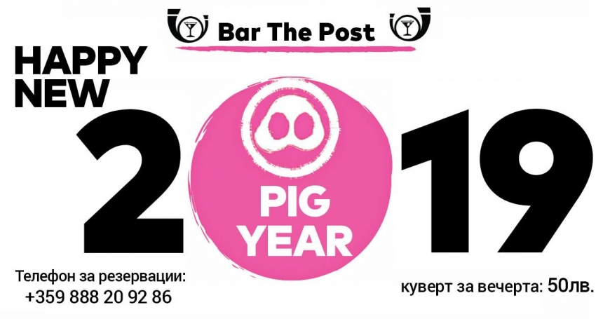 Happy New Pig Year 2019