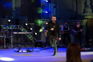 Специално светлинно шоу на концерта на Графа в Античния театър