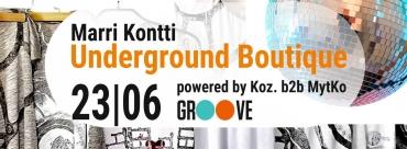 Marri Kontti Underground Boutique - powered by Koz. b2b MytKo