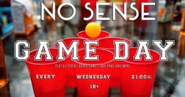 No Sense Game Day