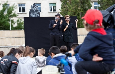 Куклен театър, посветен на замърсяването на въздуха показват тази събота в Пловдив